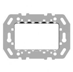 Zenit Суппорт стальной для рамок итальянского стандарта, на 1-2-3 мод., без монтажных лапок