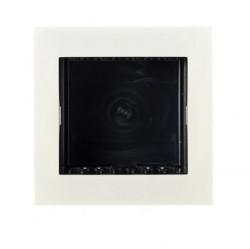 Zenit Цоколь для установки в мебель/перегородки на 2 мод., альп. бел.