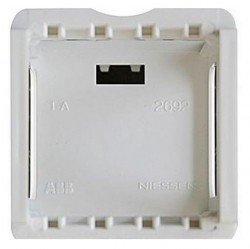 Zenit Адаптер для установки на DIN-рейку, 2-мод., Zenit альп. бел.