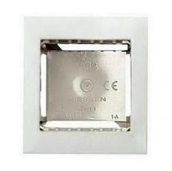Zenit Цоколь для открытой установки на 1-2 мод., с рамкой, альп. бел.