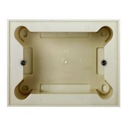 Zenit Цоколь для открытой установки на 1-2-3 мод., без рамки, альп. бел.