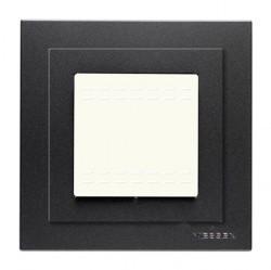 Zenit Рамка монтажная 1-ная 2-мод. + набор монтажный IP55, FM, белая