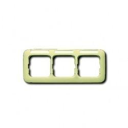 Рамка монтажная ITA, 3-модульная, рамка+набор монтажный IP55, FM, серия Zenit, цвет антрацит