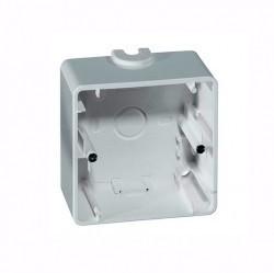 Nova Коробка 1-ная для накладного монтажа, белый