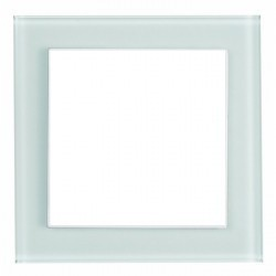 Рамка 1 пост Honeywell AURA GLAS, матовое стекло, 100011