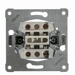 Механизм переключателя 2-клавишного Honeywell Коллекции Peha, с возможностью подсветки, скрытый монтаж, 110611
