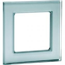 Рамка 1 пост Honeywell AURA GLAS, зеркальное стекло, 162111