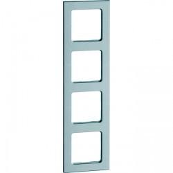 Рамка 4 поста Honeywell AURA STEIN, серый гранит, 175511
