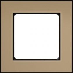 Рамка 1 пост Honeywell NOVA, золотой песок, 185591