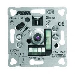 Механизм поворотного светорегулятора-переключателя Honeywell Коллекции Рeha, 600 Вт, 209613
