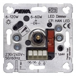 Механизм поворотного светорегулятора Honeywell Коллекции Рeha, 120 Вт, 260623