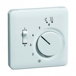 Накладка на термостат Honeywell DIALOG, алюминий, 313093