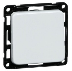 Выключатель 1-клавишный Honeywell COMPACTA, скрытый монтаж, белый, 600111