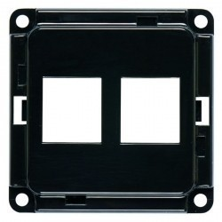 Накладка на розетку USB Honeywell COMPACTA, черный, 603041