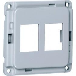 Накладка на розетку USB Honeywell COMPACTA, алюминий, 603071