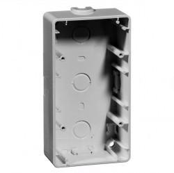 791.02 Compacta Коробка для накладного монтажа 1-ная, 37 мм, белый