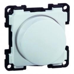 Светорегулятор-переключатель поворотный Honeywell COMPACTA, 100 Вт, белый, 604013
