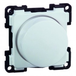 Светорегулятор поворотный Honeywell COMPACTA, 105 Вт, белый, 604113