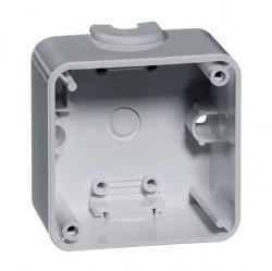 791.13 Compacta Коробка для накладного монтажа 1-ная, 37 мм, серый