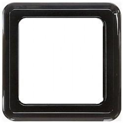 Рамка 1 пост Honeywell COMPACTA, черный, 618111