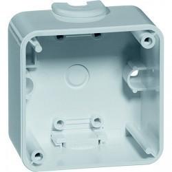 791.19 Compacta Коробка для накладного монтажа 1-ная, 37 мм, черный