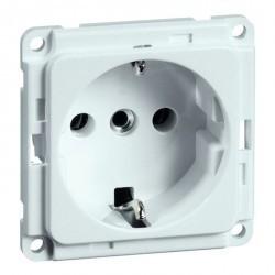 Розетка Honeywell COMPACTA, скрытый монтаж, с заземлением, алюминий, 621011