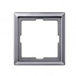 Рамка 1 пост Honeywell COMPACTA, алюминий, 623711