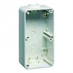 792.70 Compacta Коробка для накладного монтажа 2-ная, 37 мм, алюминий