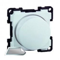Светорегулятор-переключатель поворотный Honeywell COMPACTA, 100 Вт, алюминий, 624413