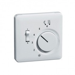 Накладка на термостат Honeywell DIALOG, белый, 976493