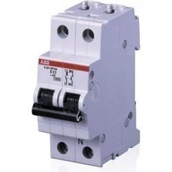 Автоматический выключатель ABB S200 1P+N 0,5А (C) 10кА, 2CDS271106R0984