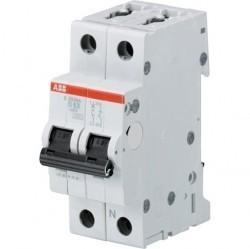 Автоматический выключатель ABB S200M 1P+N 10А (D) 10кА, 2CDS271103R0101