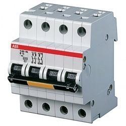 Автоматический выключатель ABB S200P 3P+N 1,6А (D) 25кА, 2CDS283103R0971