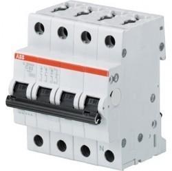 Автоматический выключатель ABB S200 3P+N 0,5А (C) 6кА, 2CDS253103R0984