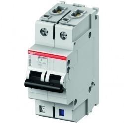 Автоматический выключатель ABB S400M 1P+N 16А (D) 10кА, 2CCS571103R8161