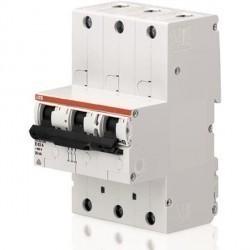 Автоматический выключатель ABB S750 DR 3P 32А (K) 12,5кА, 2CDH783010R0537