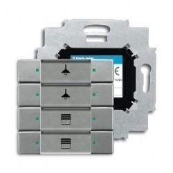 Бинарный выход 12-канальный, с ручным управлением, 10А, MDRC, SA/S 12.10.2.1