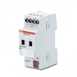 Switch Actuator with manual Operation, 2-fold, 6 A, MDRC, SA/S 2.6.2.1