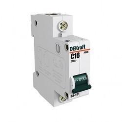Автоматический выключатель Schneider Electric DEKraft 1P 1А (B) 4,5кА, 11001DEK