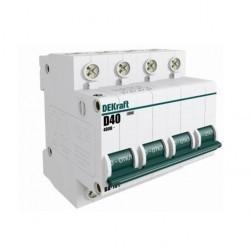 Автоматический выключатель Schneider Electric DEKraft 4P 1А (D) 4,5кА, 11133DEK