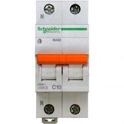 Автоматический выключатель Schneider Electric Домовой 1P+N 10А (C) 4,5кА, 11212