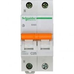 Автоматический выключатель Schneider Electric Домовой 1P+N 25А (C) 4,5кА, 11215