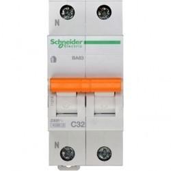 Автоматический выключатель Schneider Electric Домовой 1P+N 32А (C) 4,5кА, 11216