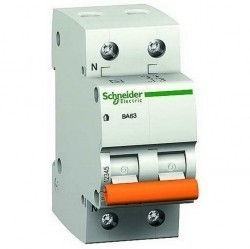 Автоматический выключатель Schneider Electric Домовой 1P+N 50А (C) 4,5кА, 11218