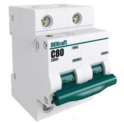 Автоматический выключатель Schneider Electric ВА-201 2P 125А (C) 10кА, 13026DEK