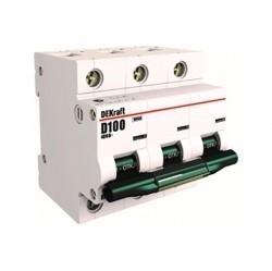 Автоматический выключатель Schneider Electric ВА-201 3P 125А (C) 10кА, 13027DEK