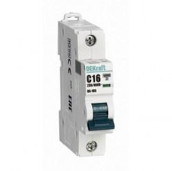 Автоматический выключатель Schneider Electric ВА-105 1P 10А (B) 10кА, 13104DEK