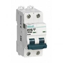 Автоматический выключатель Schneider Electric ВА-105 2P 25А (B) 10кА, 13119DEK