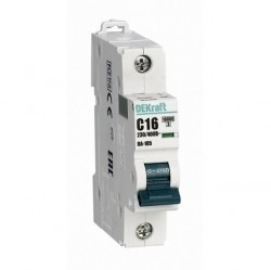 Автоматический выключатель Schneider Electric ВА-105 1P 2А (C) 10кА, 13149DEK