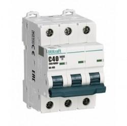 Автоматический выключатель Schneider Electric ВА-105 3P 10А (C) 10кА, 13176DEK
